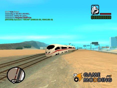 ICE 3 Train for GTA San Andreas