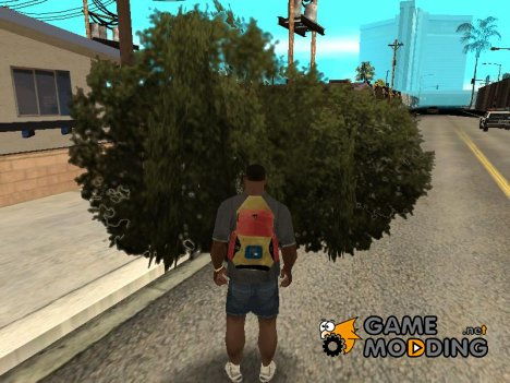 Plantig Trees Anywhere для GTA San Andreas