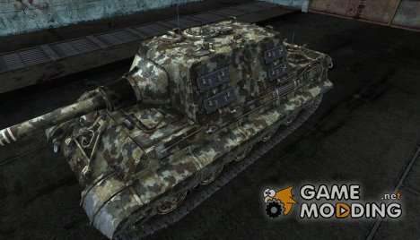Шкурка для JagdTiger Forest Camo for World of Tanks