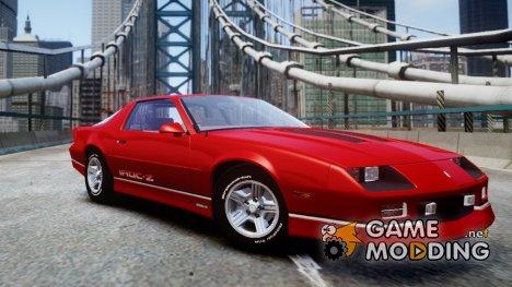 Chevrolet Camaro 1990 IROC-Z v1.5 для GTA 4
