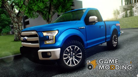 Ford Lobo XLT 2015 Single Cab для GTA San Andreas