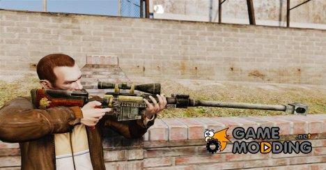 Крупнокалиберная снайперская винтовка для GTA 4