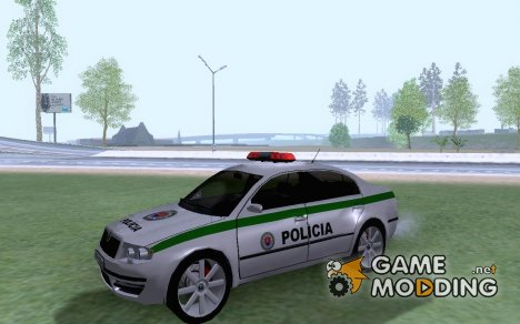Skoda Superb POLICIA for GTA San Andreas