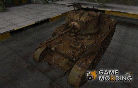 Американский танк M5 Stuart для World of Tanks