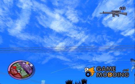 GTA IV HUD v4 by shama123 для GTA San Andreas
