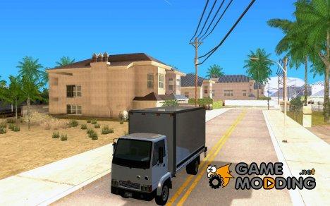 Грузовик с логотипом YouTube для GTA San Andreas