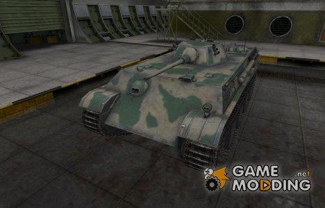Скин для немецкого танка Aufklarerpanzer Panther для World of Tanks
