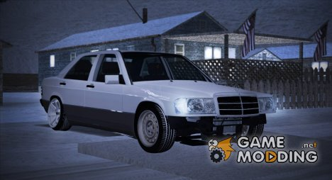 Mercedes-Benz 190E W201 for GTA San Andreas