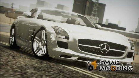 Mercedes Benz SLS AMG 2013 (E-Design) для GTA San Andreas