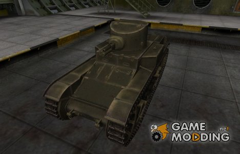Шкурка для американского танка T1E6 for World of Tanks