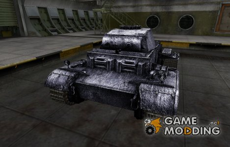 Темный скин для PzKpfw II Ausf. J for World of Tanks