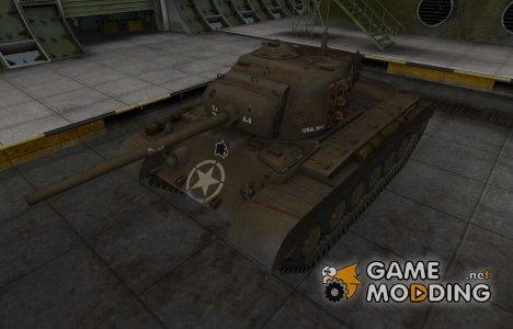 Исторический камуфляж M26 Pershing для World of Tanks