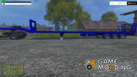 Wool Trailer v3.0 for Farming Simulator 2015