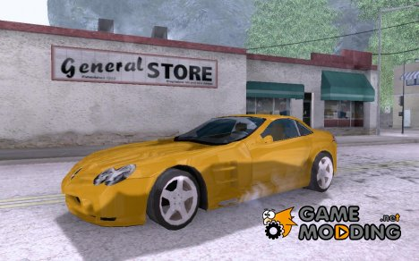 Mercedes-Benz SLR v1.0 for GTA San Andreas