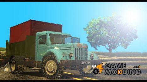 МАЗ 200 с Фермер Симулятор 2013 v2.0 for GTA San Andreas