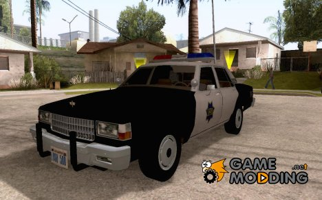 Chevrolet Caprice 1986 SFPD for GTA San Andreas