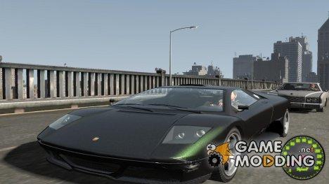 Спидометр IV (Скин 7) for GTA 4
