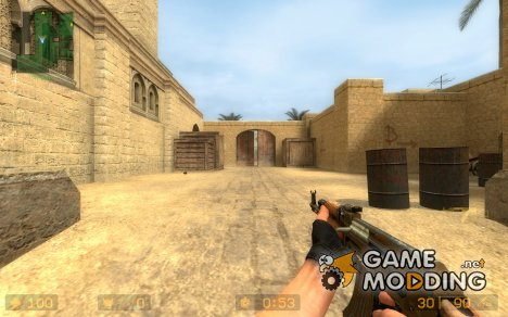 Dirty AK-47 for Counter-Strike Source