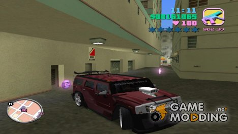Hummer for GTA Vice City