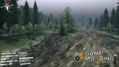 Графический мод SweetFX for Spintires 2014
