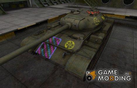 Качественные зоны пробития для Т-54 для World of Tanks