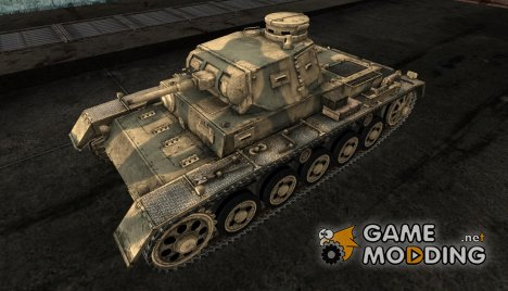 Шкурка для PzKpfw III Ausf A for World of Tanks