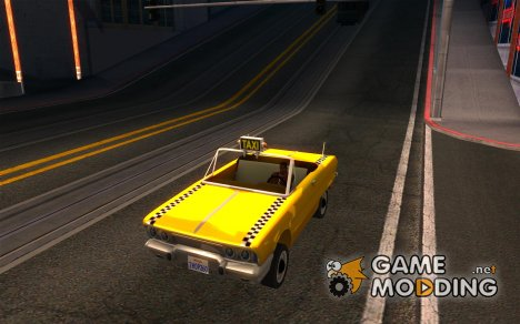 Crazy Taxi - B.D.Joe для GTA San Andreas