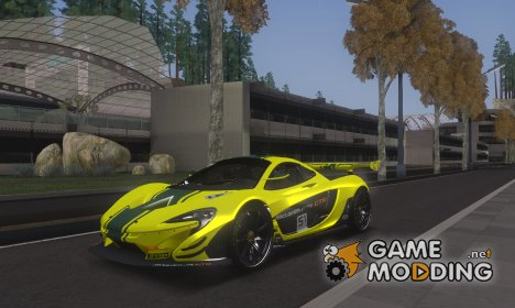 McLaren P1 GTR for GTA San Andreas