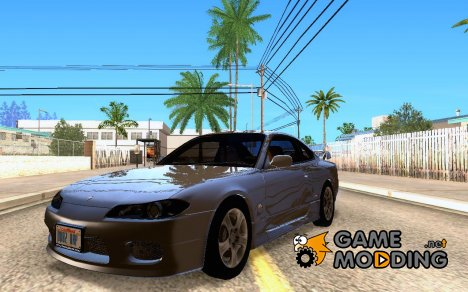 Nissan Silvia S15 Tunable - Stock для GTA San Andreas