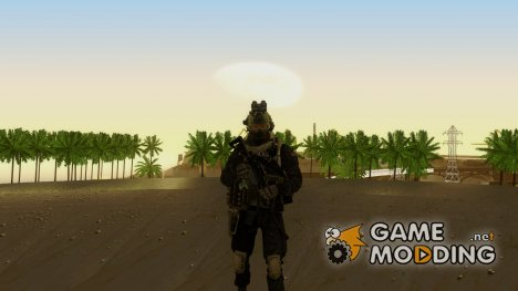 Modern Warfare 2 Soldier 1 для GTA San Andreas