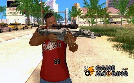 Снайперская винтовка из Ballad of a Gay Tony для GTA San Andreas