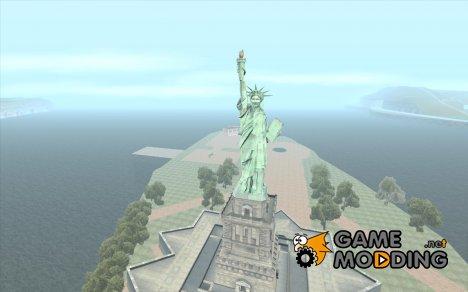 Статуя Свободы для GTA San Andreas