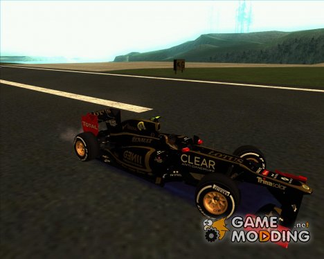 Lotus-Renault E20 F1 2012 for GTA San Andreas