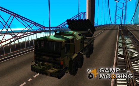 Missile Launcher Truck для GTA San Andreas