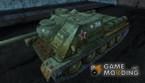 СУ-100  GreYussr for World of Tanks