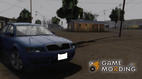 Skoda Superb 2001 TDI SA Plates для GTA San Andreas