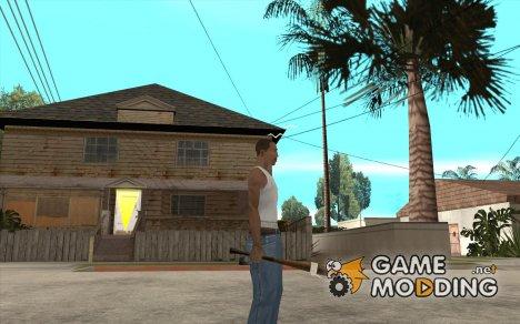 Бита с белой повязкой для GTA San Andreas