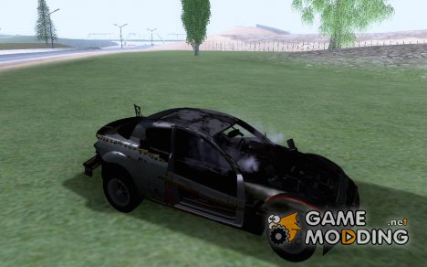 Mazda RX8 destroyed для GTA San Andreas