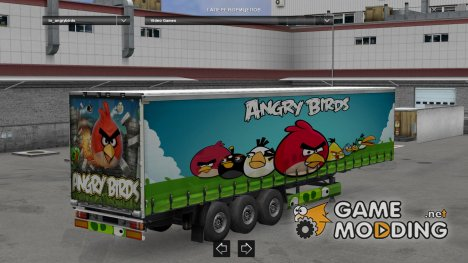 Angry Birds Trailer by LazyMods for Euro Truck Simulator 2