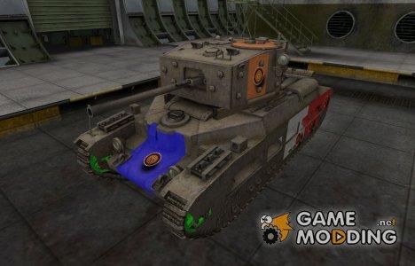 Качественный скин для Matilda Black Prince for World of Tanks