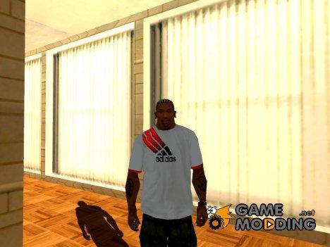 Adidas T-shirt для GTA San Andreas