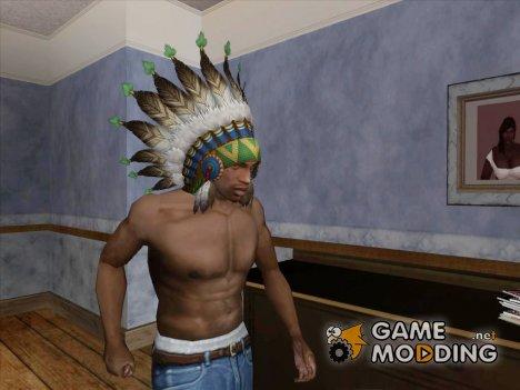 Роуч - головной убор индейца for GTA San Andreas