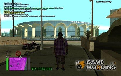 Ballas skin for GTA San Andreas