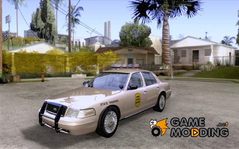 Ford Crown Victoria Iowa Police для GTA San Andreas