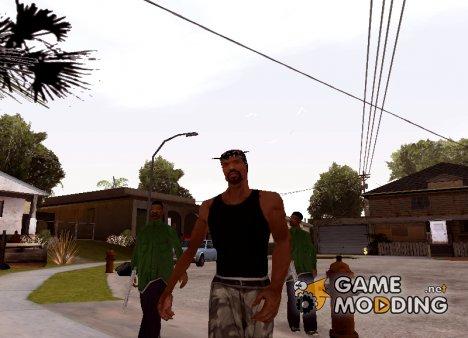 Больше братков из Grove Street для GTA San Andreas