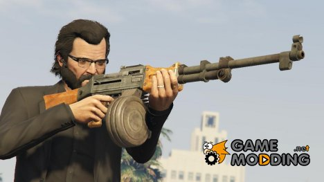Max Payne 3 RPD 1.0 for GTA 5