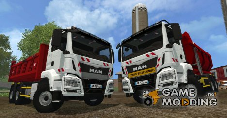 MAN TGX 6×4 Tipper for Farming Simulator 2015