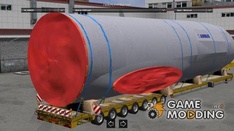 Trailer Oversize Evolution 1 для Euro Truck Simulator 2