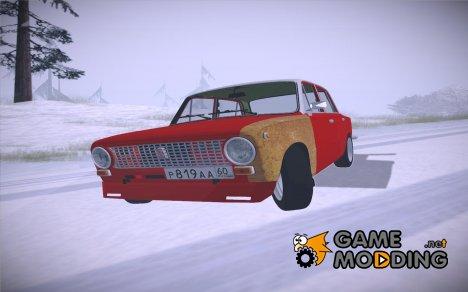 ВАЗ 2101 V3 GVR для GTA San Andreas