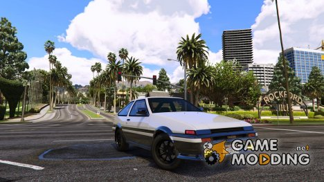 1985 Toyota Sprinter Trueno GT Apex (AE86) 7.5 for GTA 5